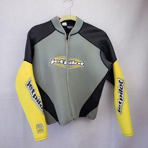 🔴2/$40🔴 Genuine Jetpilot Rubber Wetsuit Jacket M